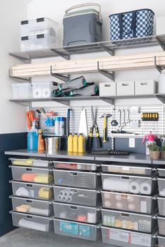 Top Garage Organization- CLICK THE PIC for Many Garage Storage Ideas. #garage #garageorganization