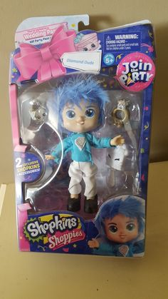 "Shopkins Shoppie Join the Party ""Diamond Dude"""