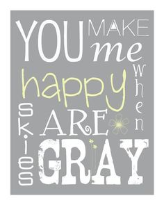 You are My Sunshine Printable Art 4x6 5x7 8x10 11x14 by LucyLoos, $15.00
