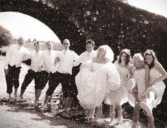 #Weddings involving wellies are great fun!