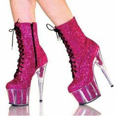 Pink kinky heels