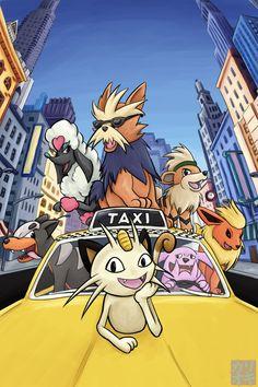 Movies with Pokemon - Oliver and Company by KariOhki on DeviantArt