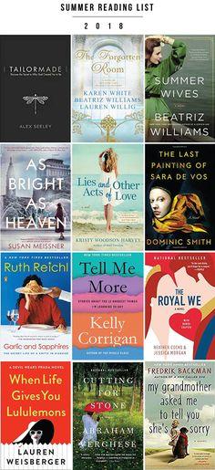 12 books on my Summer Reading List