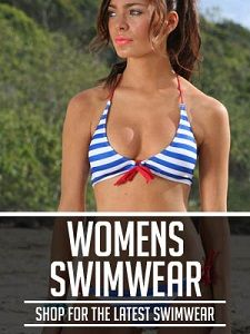 To ensure a better summer vacation, it is best to opt for wonderful swimwear. These swimsuits can provide you with style and functionality you need on the beach. Supportive Swimwear, Best Summer Vacations, Resort Wear For Women, Bikini Bodies, Fashion Advice, Blue Stripes, String Bikinis, Swimsuits, Plus Size