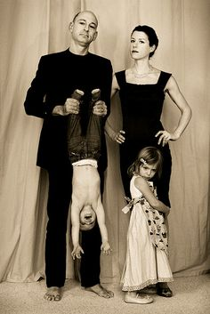 for our family portrait, I think I'll have us all dress up, then just let the kids and dogs run around like the heathens they are