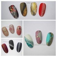Gel Nail Polish Colors, Gel Nail Art, Nail Manicure, Sculpted Gel Nails, Gel Nails French, Glitter Gel Nails, Stamping Nail Art, Gel Nail Designs, Fancy Nails