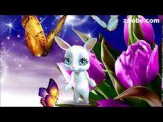 Guten Morgen - ich schicke euch Schmetterlinge, Sonnenschein, Freiheit und Blume, Zoobe - YouTube