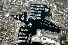 #SuttonHarbour #View #aerial #Plymouth #Devon #Sailing #Yachts #OceanCity