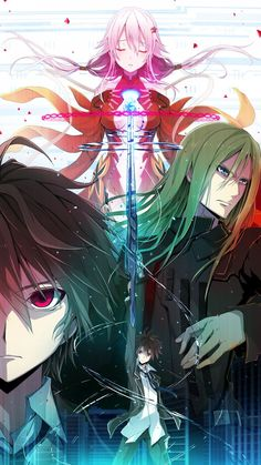 redjuice [GUILTY CROWN] | paint | Pinterest | Crowns, Php and Photos