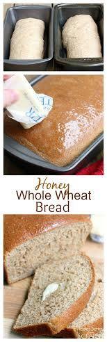 Honey Whole Wheat Bread with a scoop of Greek Yogurt to keep them extra moist! Recipe on TastesBetterFromScratch.com