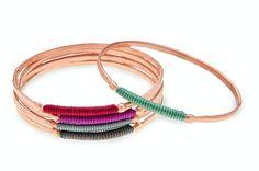 Bracelets by Danai Gianneli !  #art #design #materials #fashion #jewelry #jewel #jewelrydesign #jewelrymaking  #colors #style #bracelets