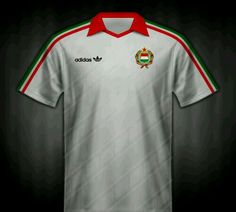 Hungary away shirt for the 1986 World Cup Finals.