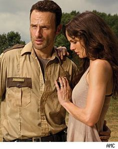 Spoiler!!! Rick I love you. I want whats best for us. Shane is a danger. You need to get rid of him! What you killed Shane in self defense! Don't touch me! I hate you! ...    What is wrong with her?