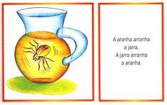 Quadrinhas e trava-línguas ilustrados