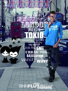 ✧感没と津波✦ ✧SINNFLUT meets Tsunami✦  ✦SWISS FASHION LABEL - HANDMADE✧ facebook: sinnflut meets tsunami
