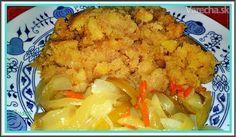 Krupicový zemiakový šterc  (podobá českým škubánkam či našej kuľaši)