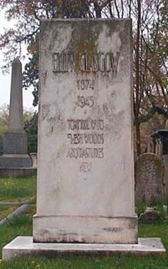 grave of Ellen Glascow, Hollywood Cemetery Hollywood Cemetery, Throughout The World, Virginia, Places, Lugares