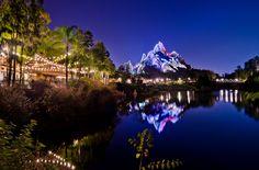 Disney's Animal Kingdom - Asia at Night   by Tom.Bricker