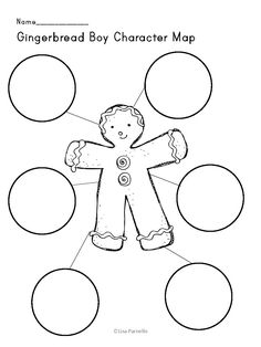 Gingerbread Man Mini Unit with FREEBIE! My Big Sale! as seen on First Grade Faculty  www.firstgradefaculty.com