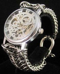 Chainmaille Watch from Chayn Mayle
