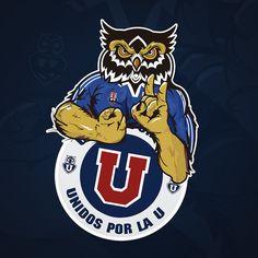 Logo Unidos por la U ® by P4tUz0 Football Art, Football Players, Save The Queen, Porsche Logo, Pokemon, Grande, Frozen, Concept, Fictional Characters