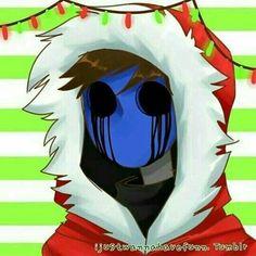 Eyeless jack by ijustwannahavefun ♥ - Creepypasta - Makaron Jeff The Killer, Scary Creepypasta, Creepypasta Proxy, Hoodie Creepypasta, Creepy Pasta Family, Eyeless Jack, Laughing Jack, Christmas Icons, Merry Christmas