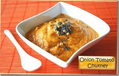 Onion tomato chutney side dish for idli dosa - very delicious recipe that goes perfectly well with idli, dosa or even adai.