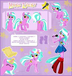 Mane Event Official Reference Guide by Centchi on DeviantArt