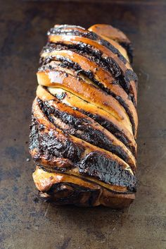 Chocolate Babka (Cook Like a Champion) Just Desserts, Dessert Recipes, Babka Recipe, Chocolate Babka, Sweet Bread, Baked Goods, Sweet Tooth, Cooking Recipes, Pastry Recipes