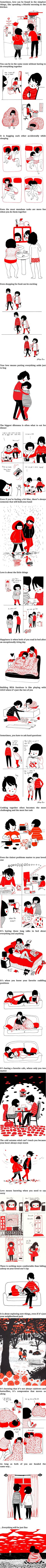 VineScope - Heartwarming Illustrations Show That Love Is In The Small Things
