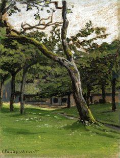 Norman Farm through the Trees, Claude Monet