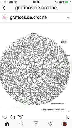 Free Crochet Doily Patterns, Crochet Circles, Crochet Diagram, Crochet Chart, Filet Crochet, Crochet Doilies, Fabric Patterns, Crochet Hooks, Crochet Dreamcatcher Pattern