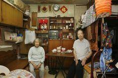 Photographs of Small Flats in Hong Kong