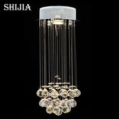Mini Small Crystal Chandelier Light Fixture Flush Mounted Crystal Lamp  Lustre Stairs Porch Aisle Hallway Corridor