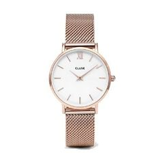 Cluse Rose Gold strap Roman Numerals £89 Amazon