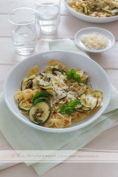 Zucchini Pasta | Recipe at www.food-vegetarisch.de