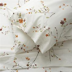 Sakura Sheet Sets in All Decorative Bedding | Crate and Barrel