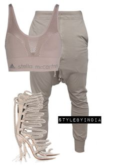 """""""Untitled #1511"""" by iysmnx ❤ liked on Polyvore featuring adidas"""