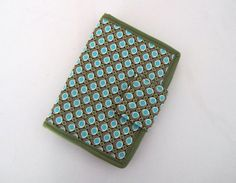 Fabric Bifold Wallet Purse Left Hand by Tracey Lipman on Etsy, $38.00