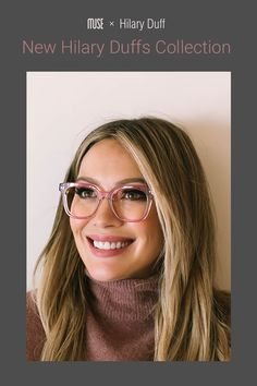 Hilary Duff New Collection - braids Round Lens Sunglasses, Cute Sunglasses, Sunglasses Women, Vintage Sunglasses, Hilary Duff, Fake Glasses, Glasses Frames, Glasses Style, Medium Hair Styles