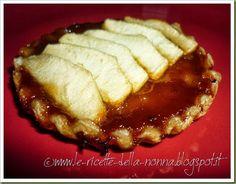 Le Ricette della Nonna: Crostatine di pastasfoglia con mele e marmellata d...