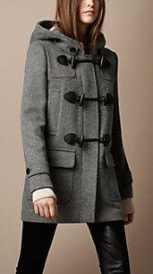 Wool Duffle Coat - Burberry