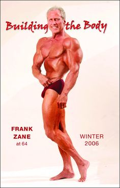 Frank Zane at age 64!  Now that just goes to show what age does not matter.