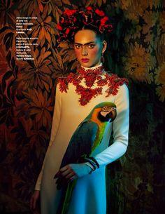 viva la vida: agnes sokolowska by sandrine dulermo and michael labica for amica may 2013   visual optimism; fashion editorials, shows, campaigns & more!