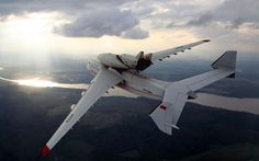 Ukrainian Antonov An-225 Mriya. The world's largest aircraft