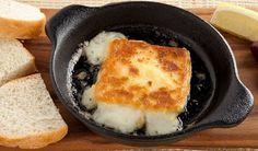 Saganaki                                       Pan-seared cheese made with ouzo