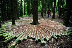 Land art ai Corni di Canzo (Maria Cristina Brambilla) (With images) Outdoor Sculpture, Outdoor Art, Outdoor Gardens, Sculpture Art, Metal Sculptures, Abstract Sculpture, Bronze Sculpture, Landscape Art, Landscape Architecture