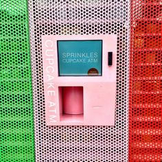 There's not much to say about a machine that gives you cupcakes, except that it's probably the best invention since the iPhone. This a very innovative concept and very convenient when the store is closed after hours when you need that cupcake fix.