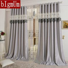 Modern Luxury Curtain Sheer Flower Embroidered Curtains Living Amusing Luxury Curtains For Living Room Design Ideas