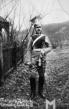 Mariusz Zaruski, rotmistrz I Pułku Ułanów Legionów Polskich, ok. 1915